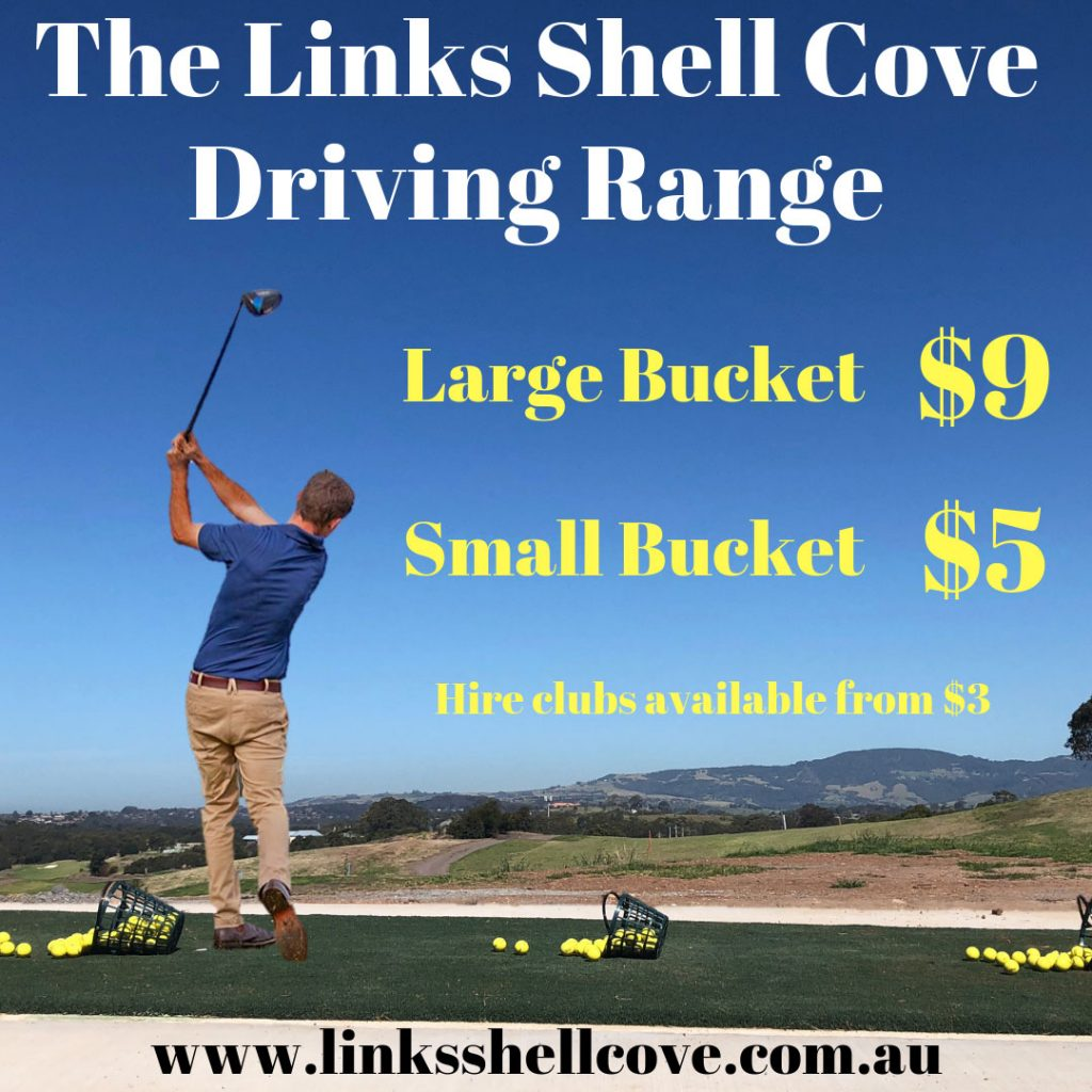 Driving Range Price list